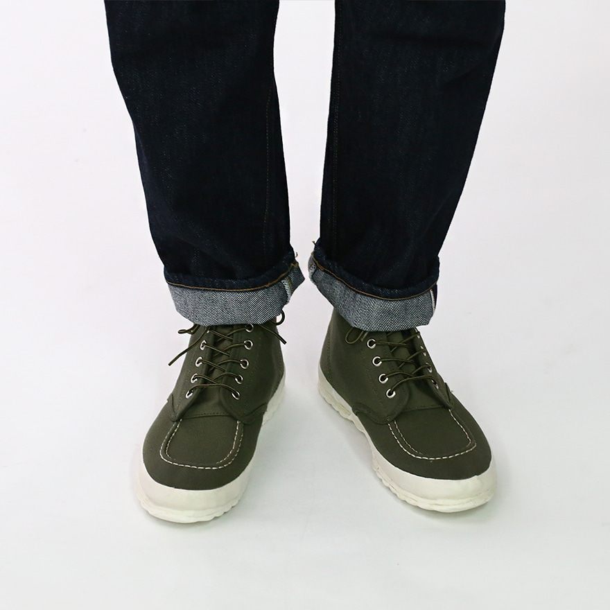 Work Oxford Moc - toe Type - Olive