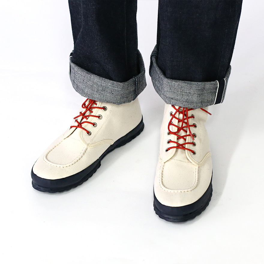 Classic Work Moc - toe Type - Natural