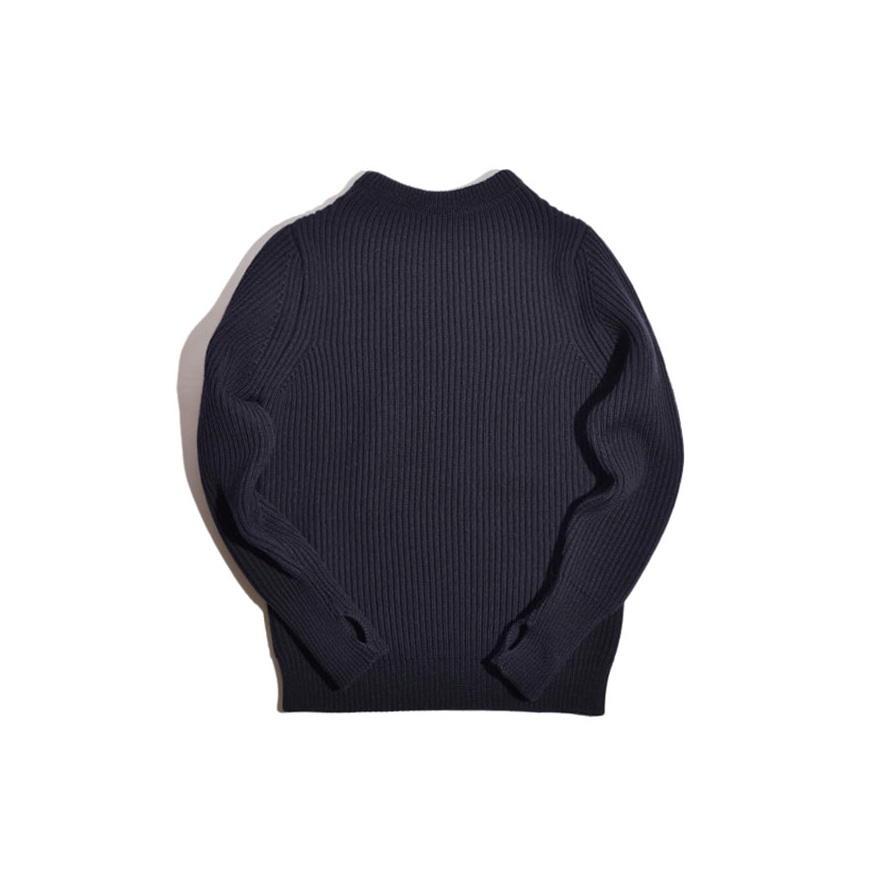 [진열상품] Navy Crewneck - Navy Blue