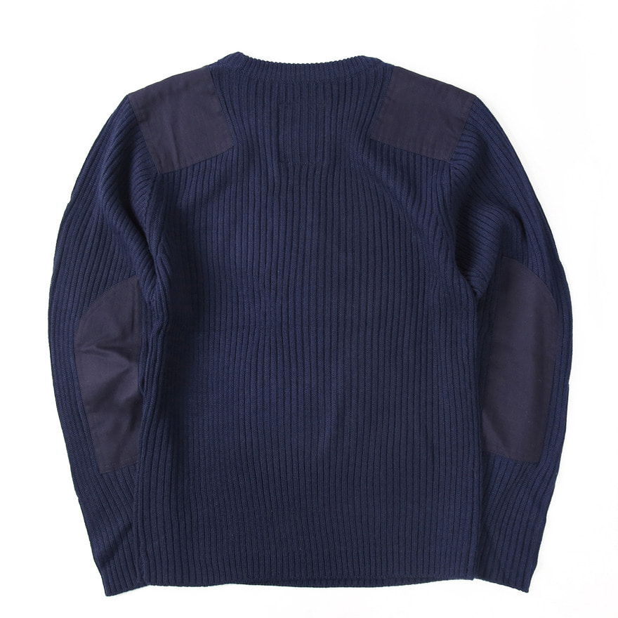 [재입고] Command Crew Neck Sweater - Navy
