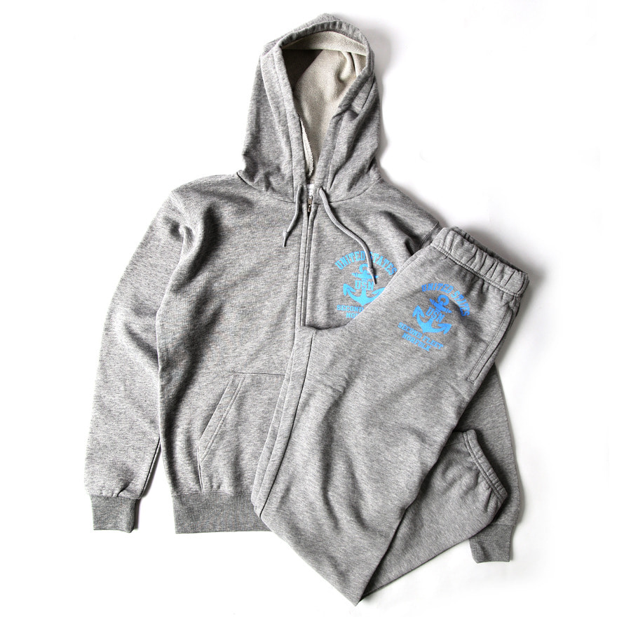 Print Sweat Set(USAF) - Grey