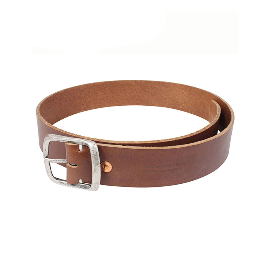 1.5inch Leather Belt - Brown