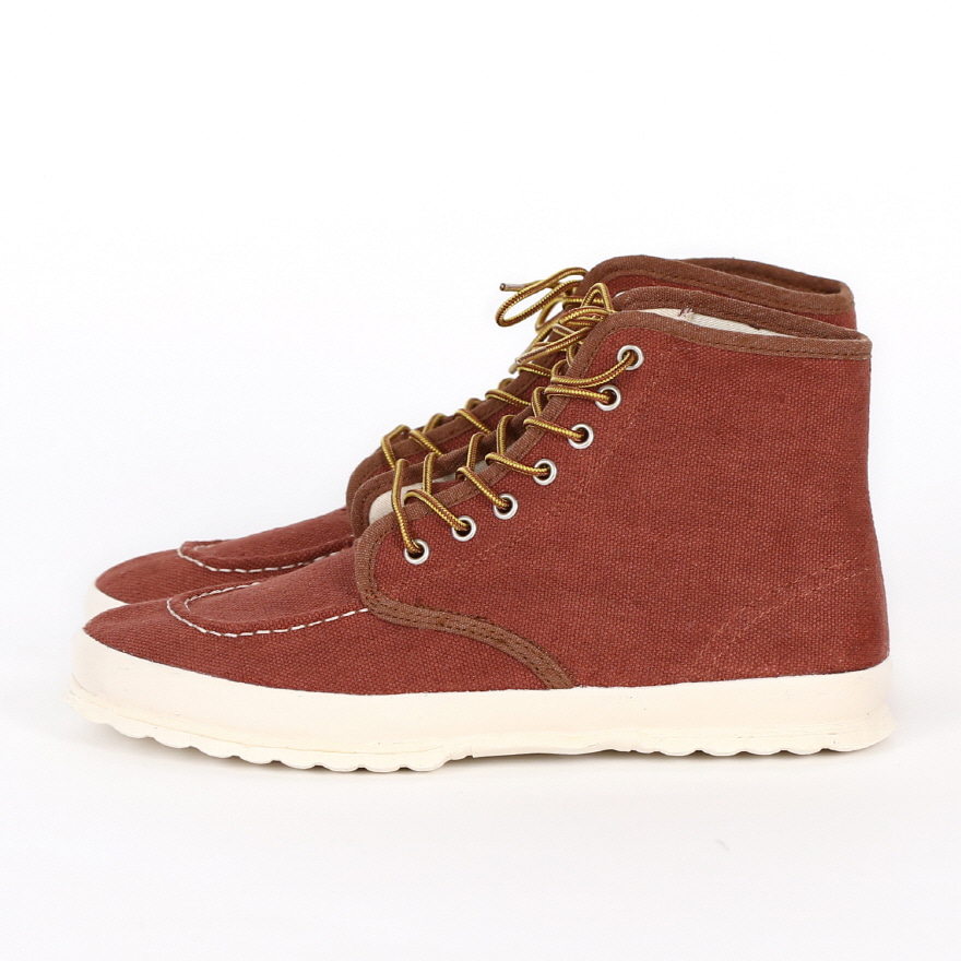 Classic Work Moc-toe Type - Reddish Brown LF
