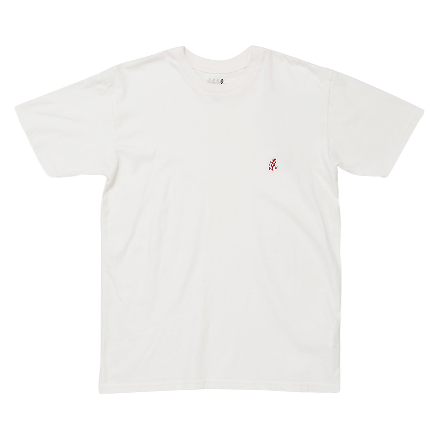 One Point Tee - White