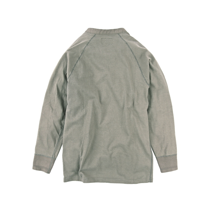 Henley Neck L/S - Grey