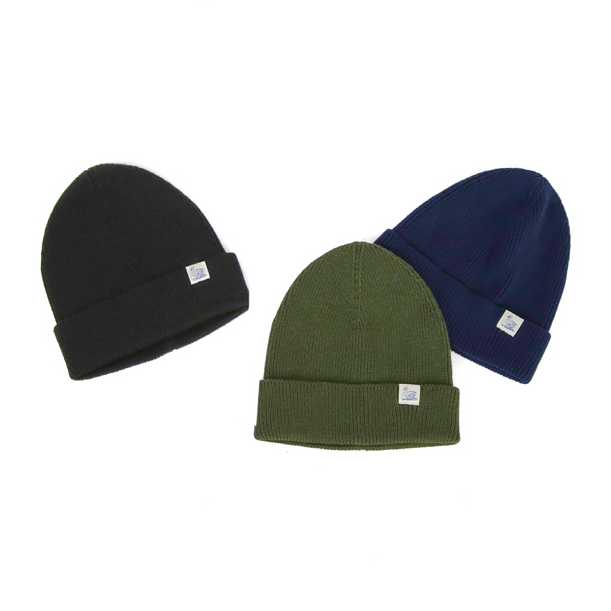 C91 Cotton Beanie - Navy