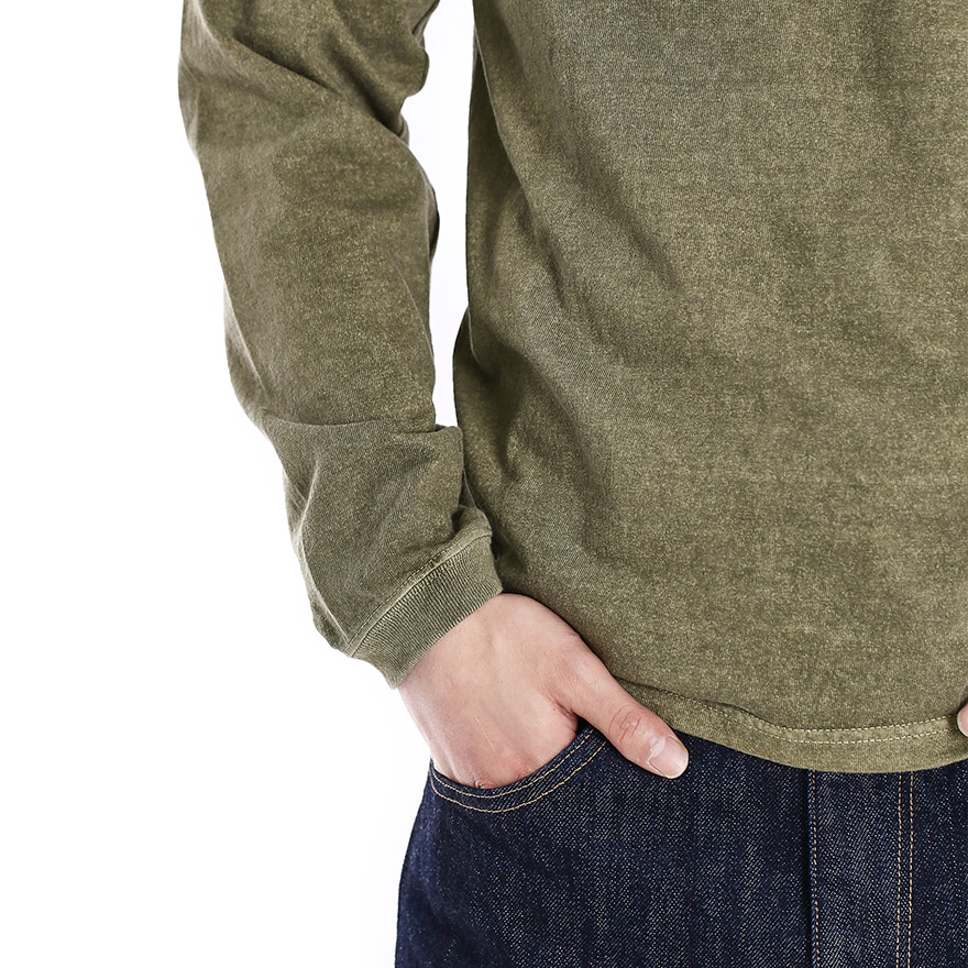 Henley Long T-Shirts - P-Sage