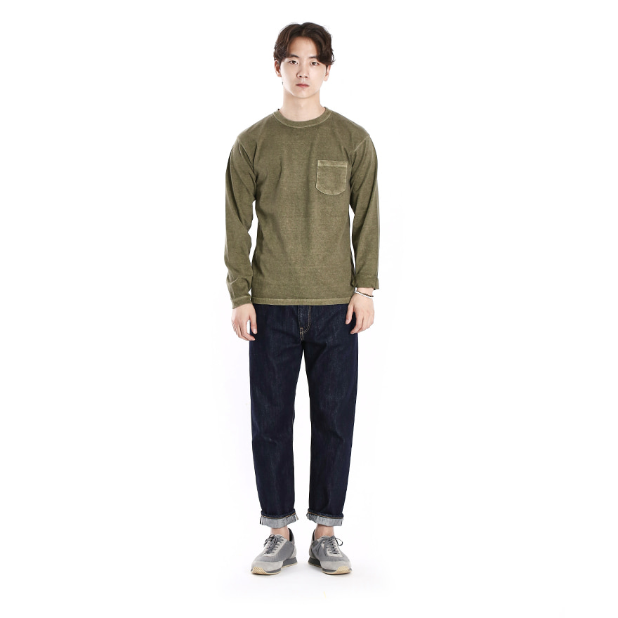 Pocket Long T-Shirts - P-Sage
