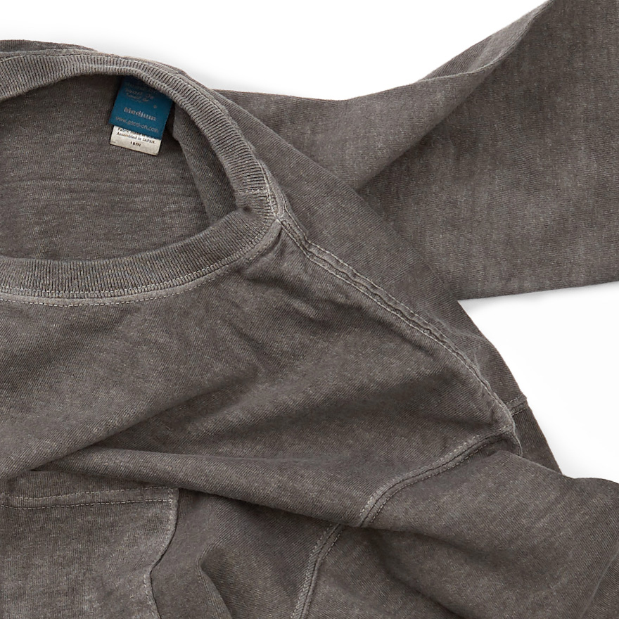 Pocket Long T-Shirts - P-Grey