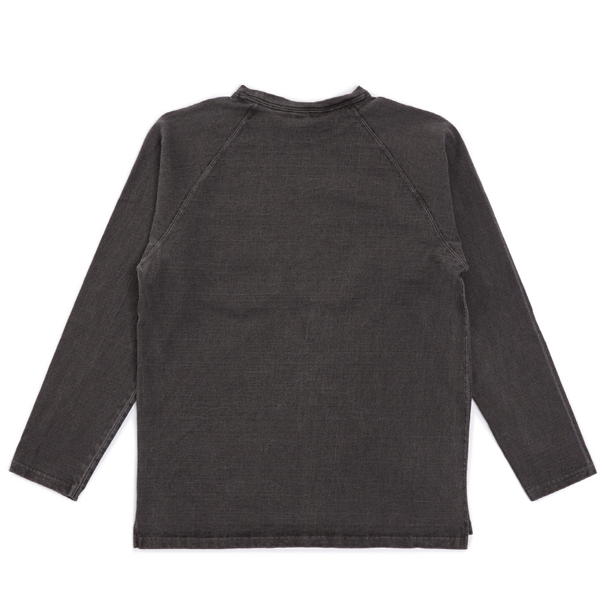 HVY Cotton Long Pocket T-Shirts - P-Black