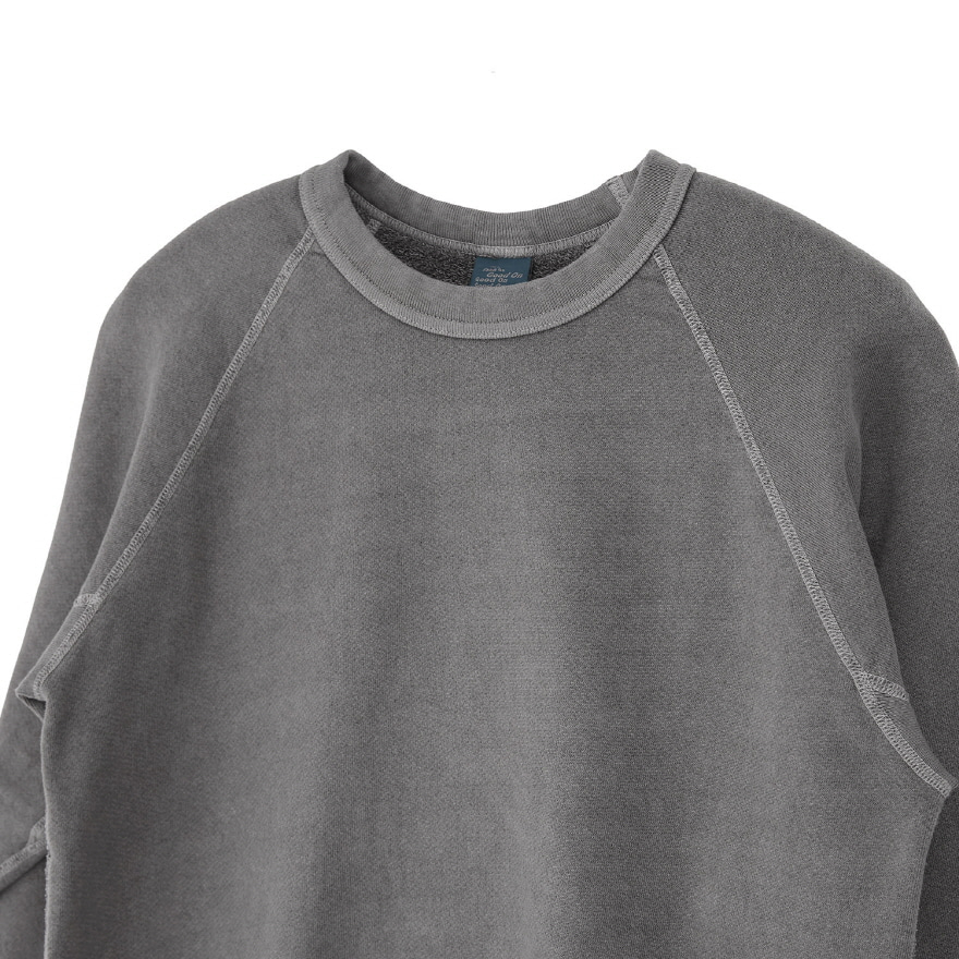 Raglan Crew Sweat - P-Grey