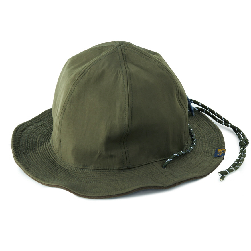 Canvas Cord R/Hat - Khaki