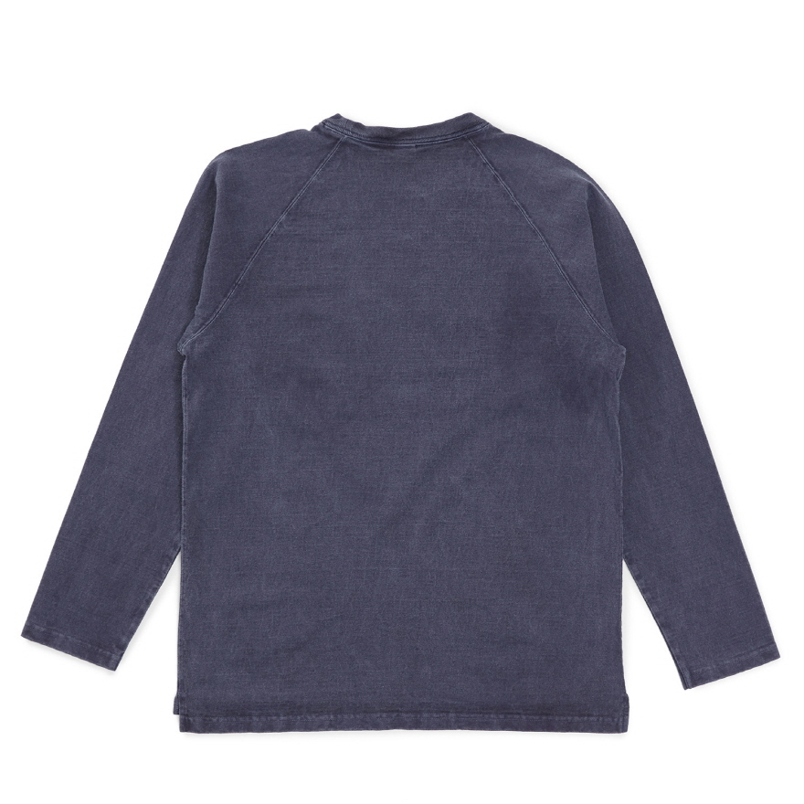HVY Cotton Long Pocket T-Shirts - P-Navy