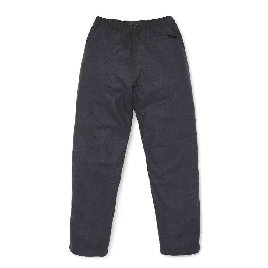 Wool Blend Gramicci Pants - Heather Charcoal