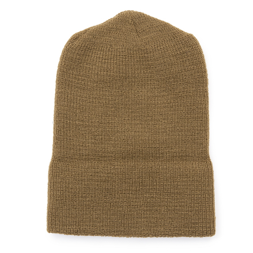 Double Guage Wool Watchcap - Coyote