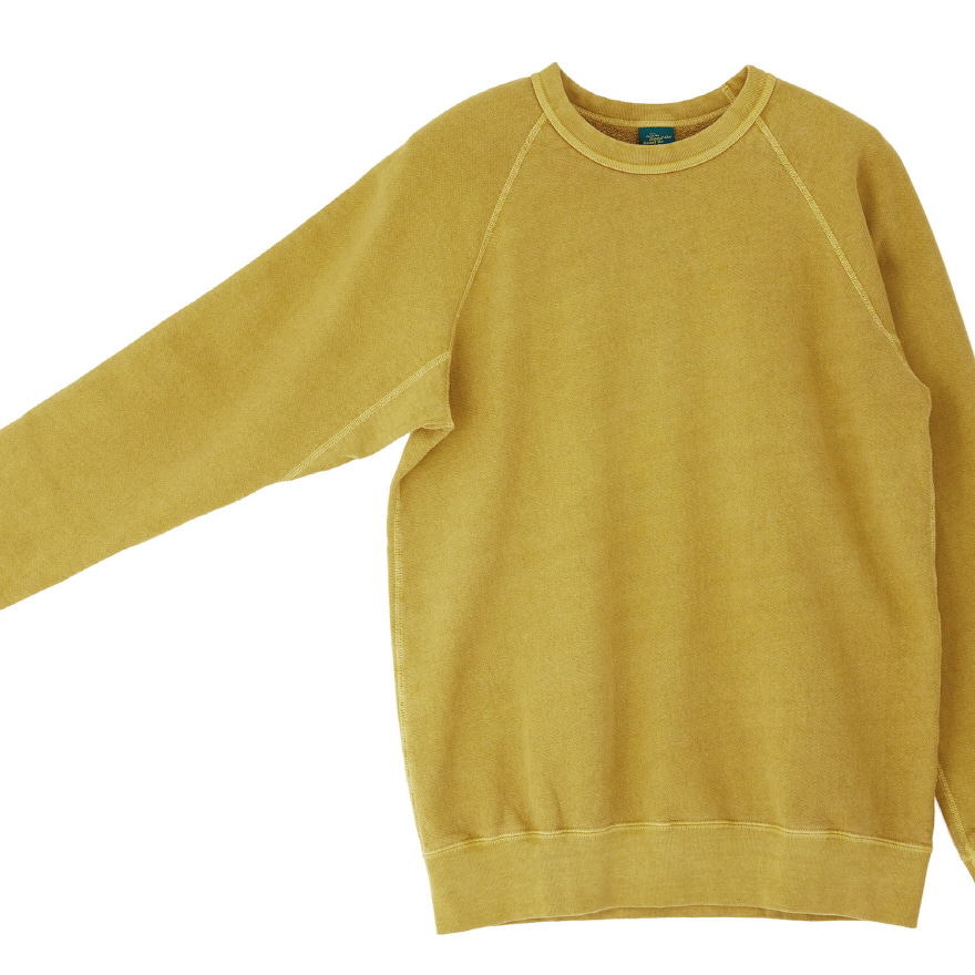 Raglan Crew Sweat - P-Banana