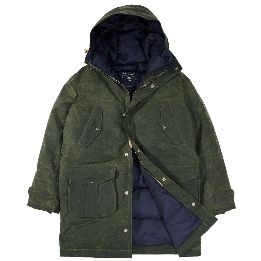 [진열상품] Alaska Parka - Dark Green