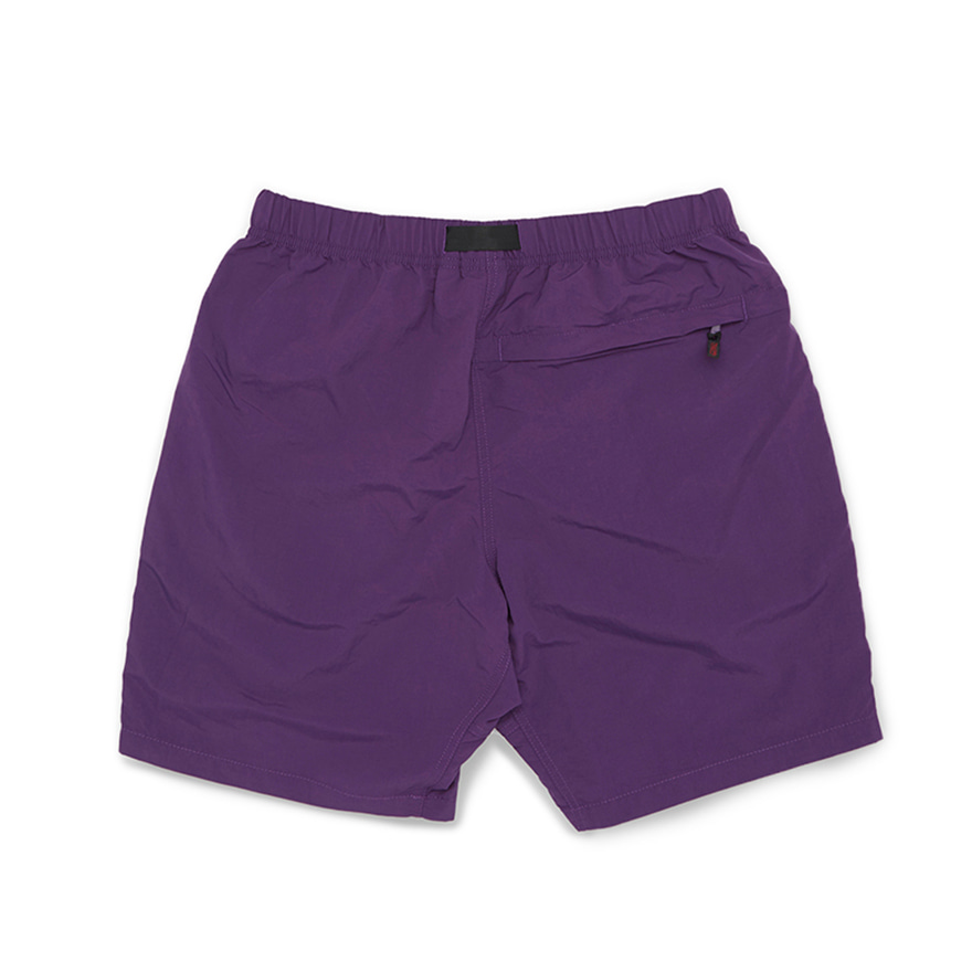 Shell Packable Shorts - Purple