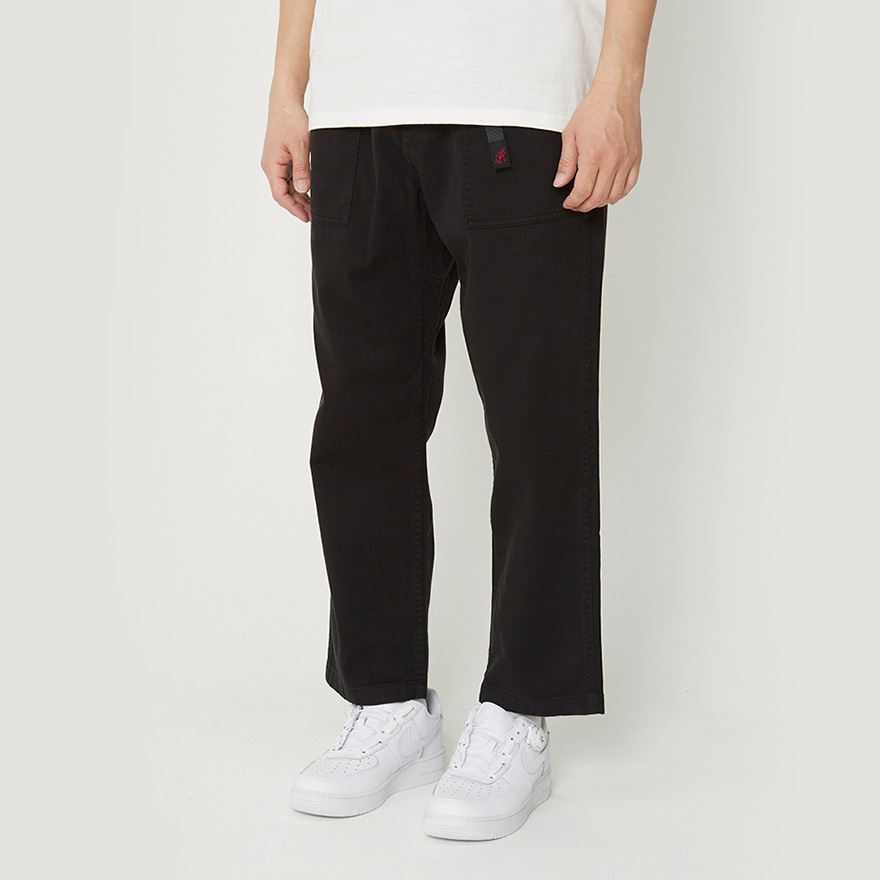 Loose Tapered Pants - Black