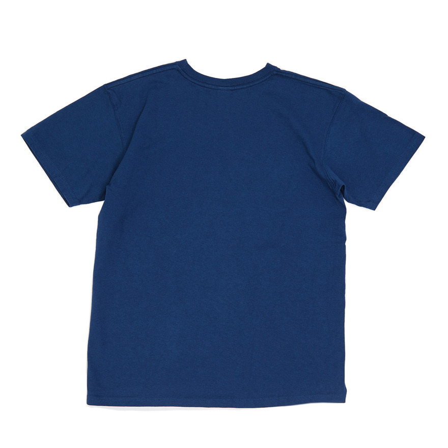 Crew Neck T-shirts - Deep Lagoon