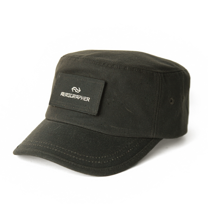 Army Cap - Waxed Olive
