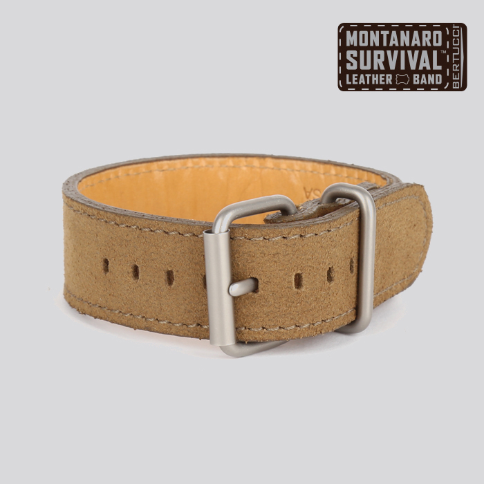 Motanaro Survival Leather Band - #22 desert