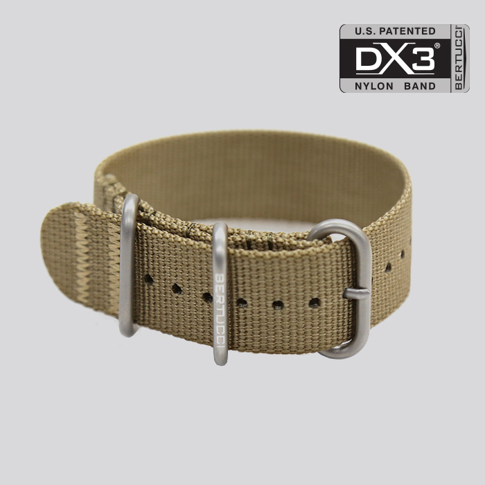 DX3 Nylon Band - #124 defender khaki