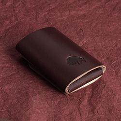 Cash Fold - Burgundy