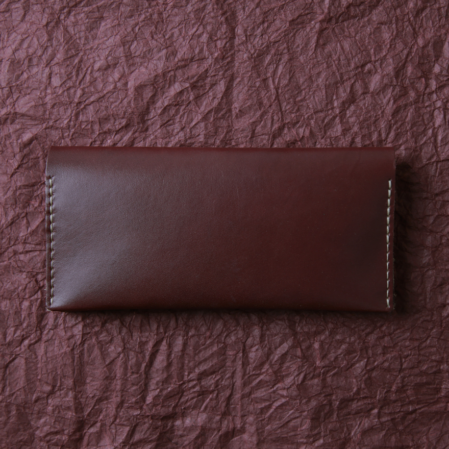 No.12 Wallet - Burgundy