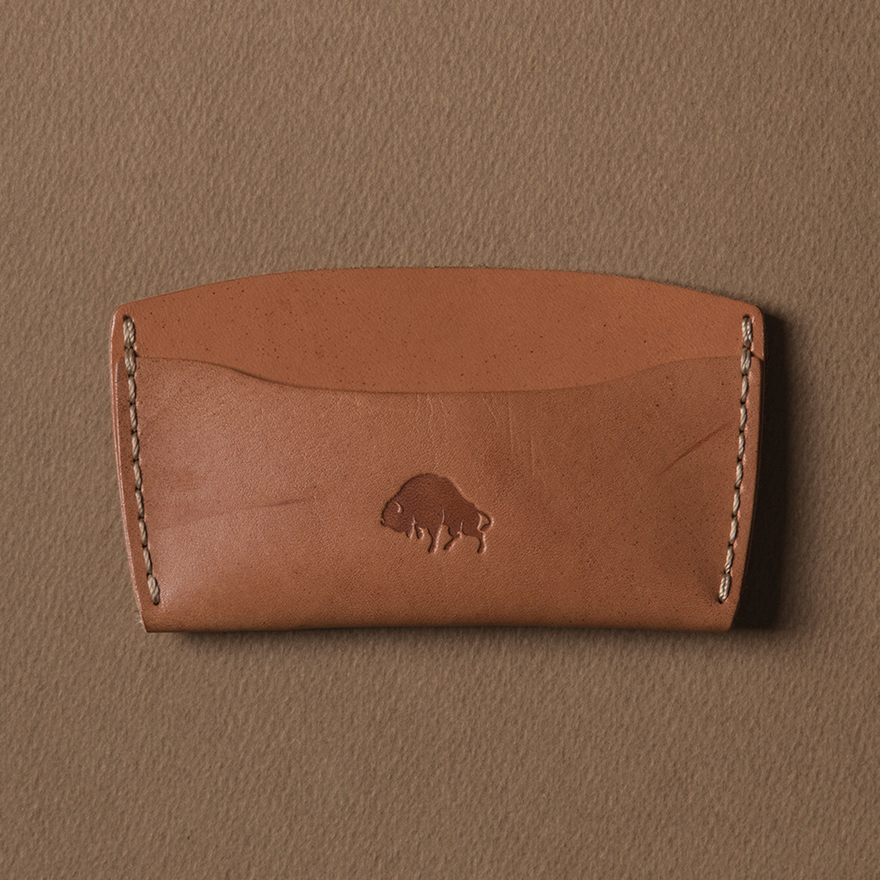 No.3 Wallet - Golden tan