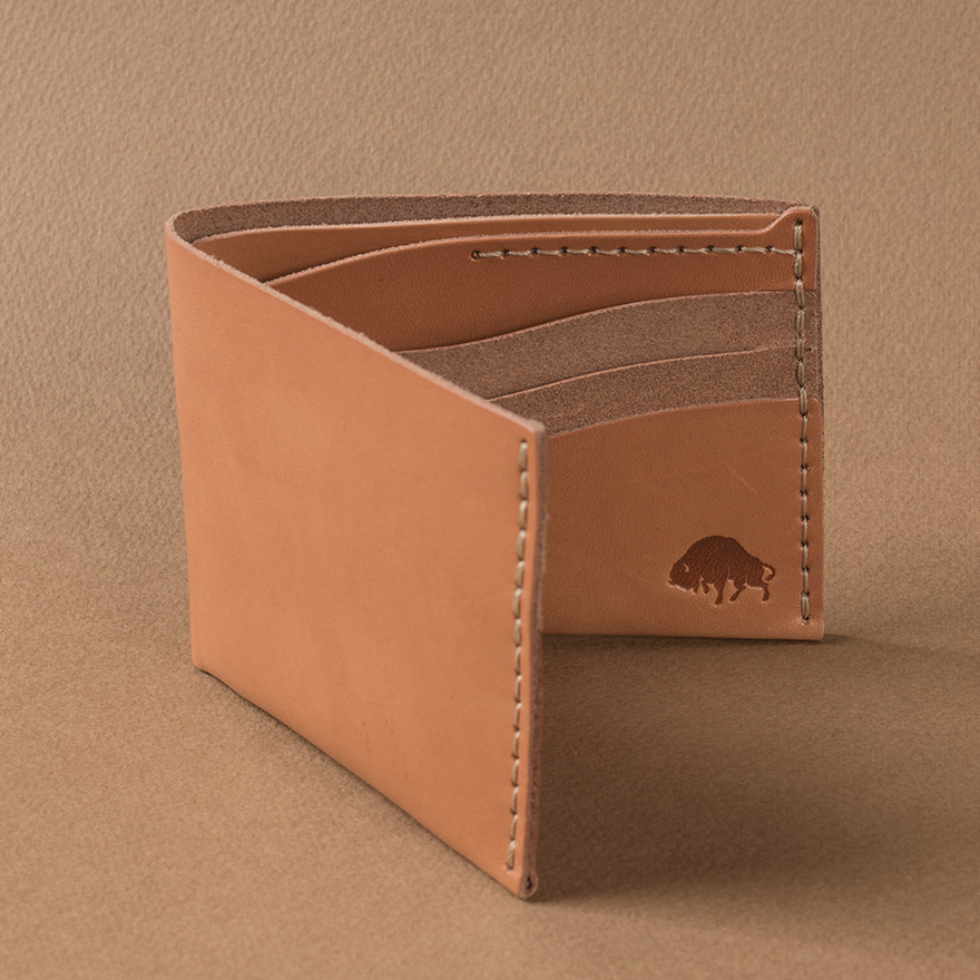 No.8 Wallet - Golden tan