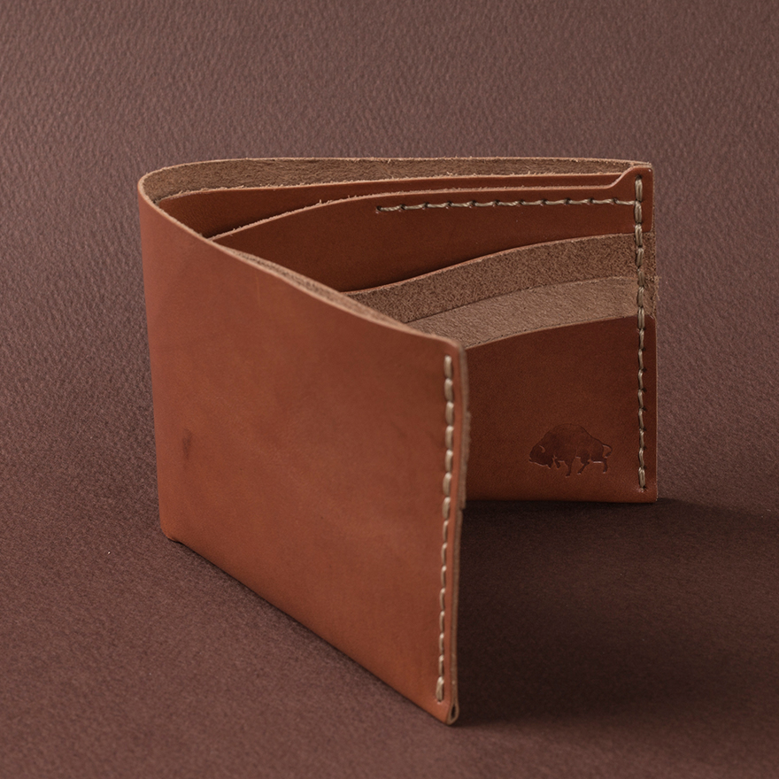 No.8 Wallet - Cognac