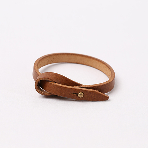 Ribbon Bracelet - Brown