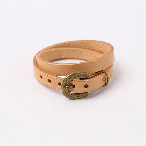 Horse Shoe Long Bracelet - Natural