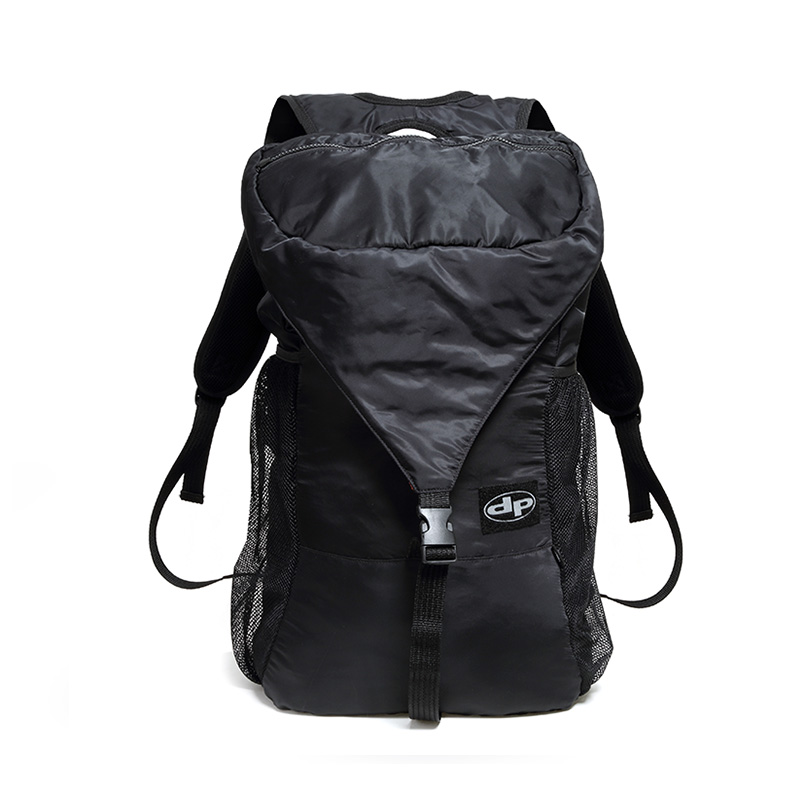 Smuggler Foldaway Bag - Midnight Black
