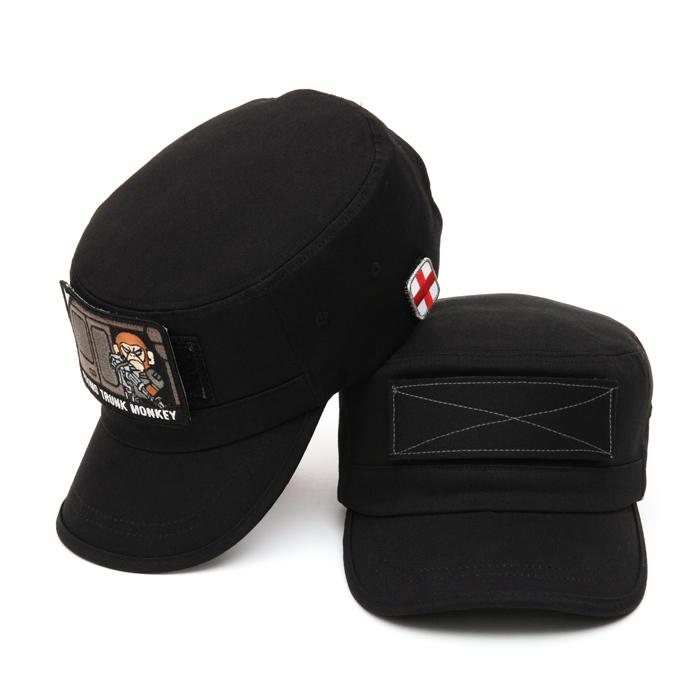 44Magnum Military Cap - Black