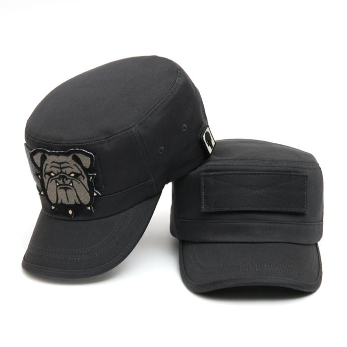 44Magnum Military Cap - Charcoal