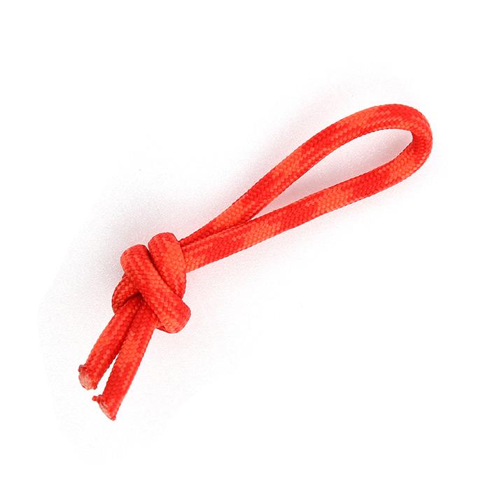 Paracord Zipper Cord - Red Orange Camo