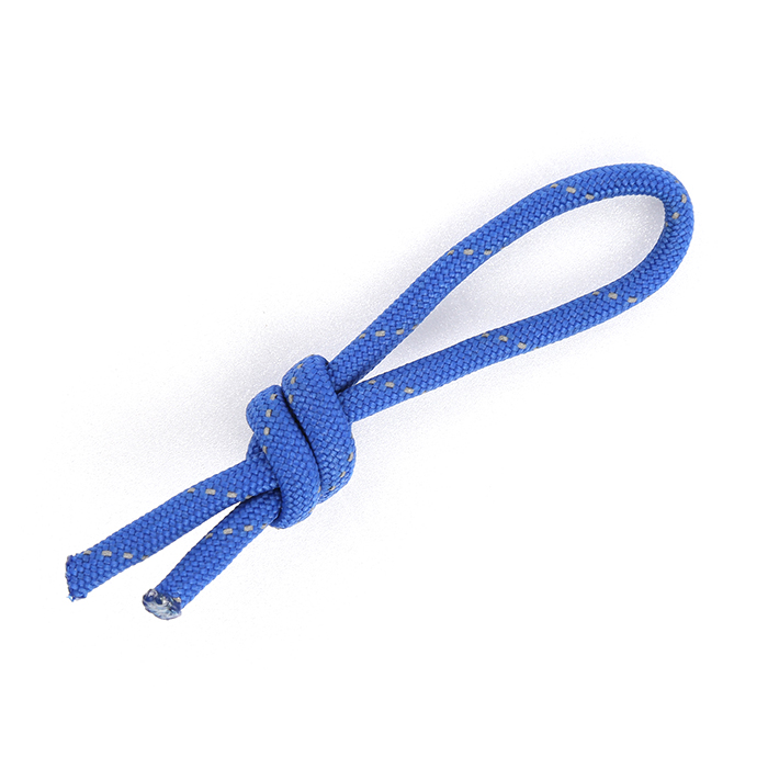 Paracord Zipper Cord - Shiny Blue
