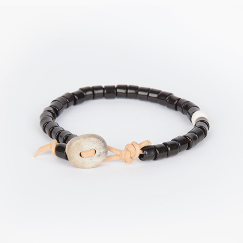 Deer Antler Beaded Bracelet