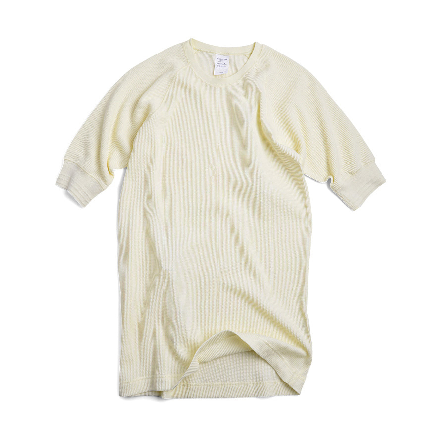 Pack Half Sleeve C/N Tee - Off White
