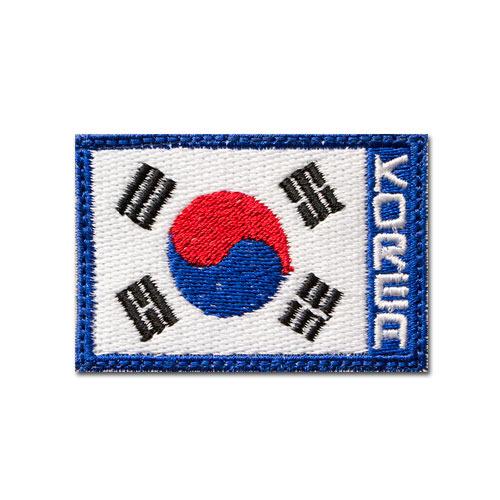 태극기 블루KOREA M 패치