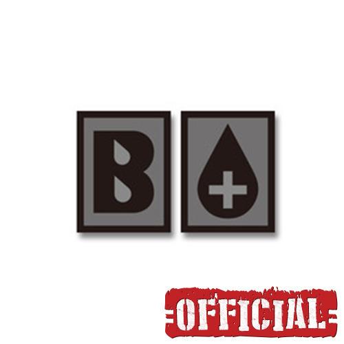 혈액형 B+ PVC 패치 - SWAT