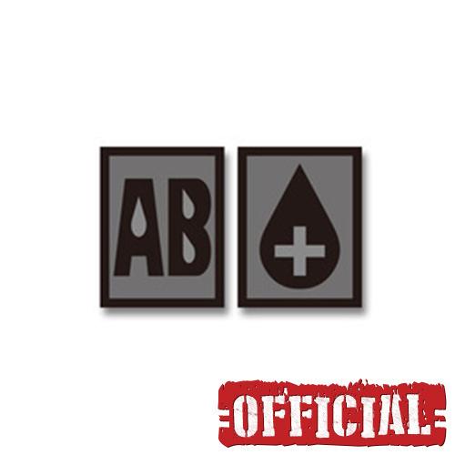 혈액형 AB+ PVC 패치 - SWAT