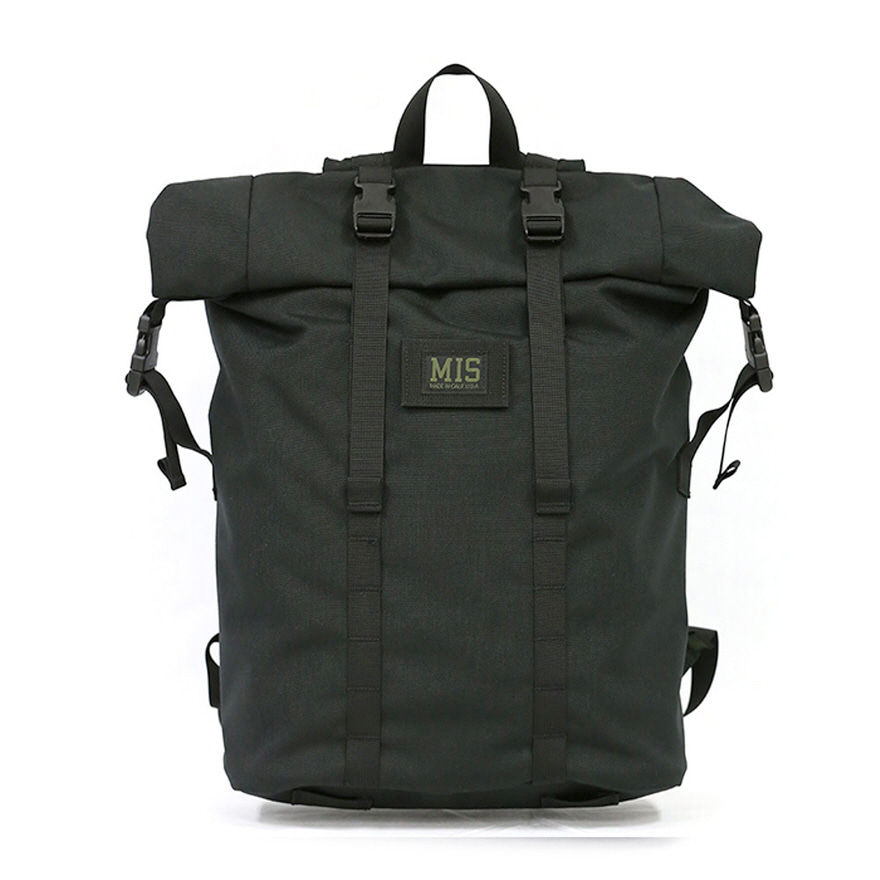 Roll Up Backpack - Black