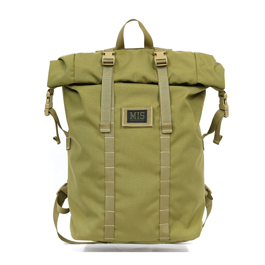 Roll Up Backpack - Coyote Tan