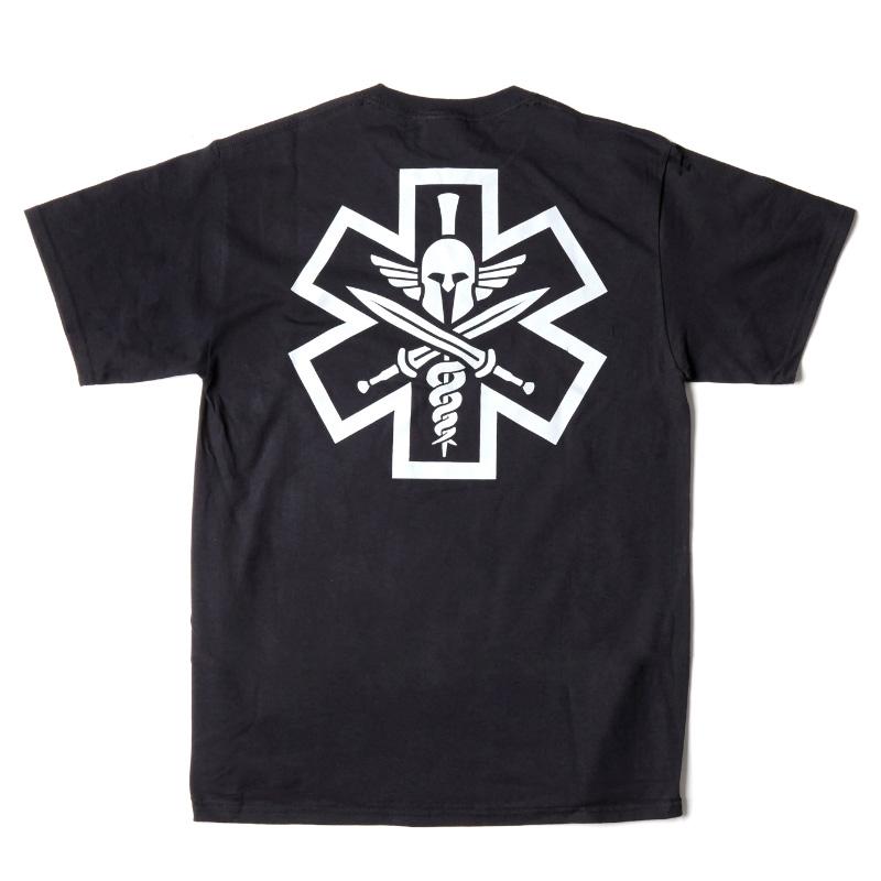 Tac-Med Spartan T-shirt - Black