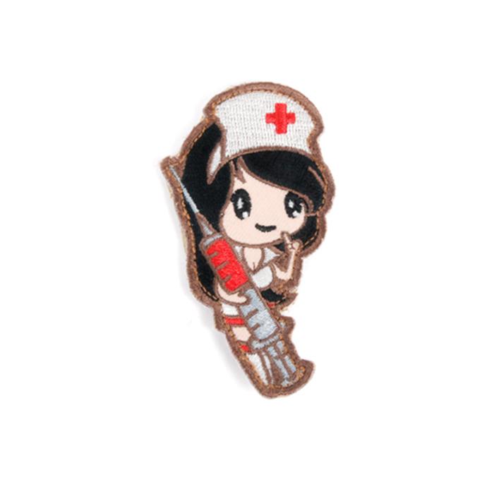 간호사 소녀 패치 - Subdued