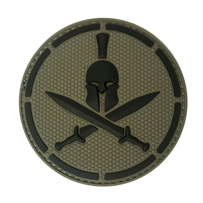 스파르탄 헬멧 패치 - ACU패치 -Dark