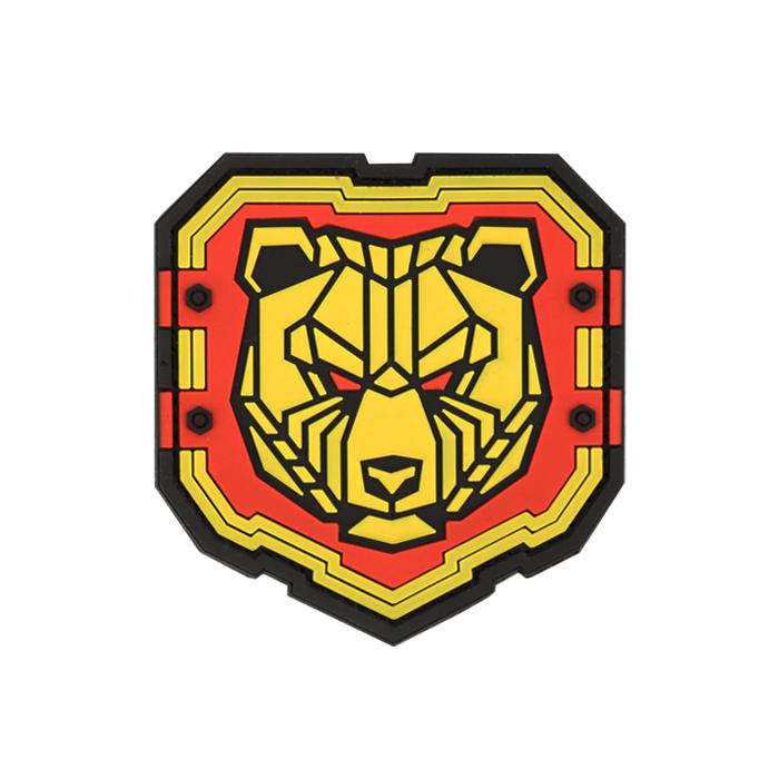 인더스트리얼 곰 PVC 패치 - Full Color